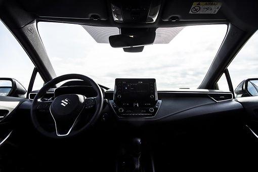 Car, Vehicle, Control Panel, Interior, Suzuki