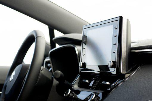 Car, Vehicle, Control Panel, Gps