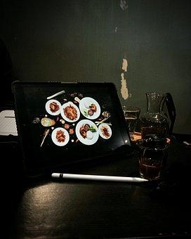 Tablet, Photography, Food, Lr, Technology, Digital