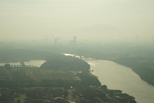 Misty Morning, Climate Change, Smog, Haze, Gloomy, Dull