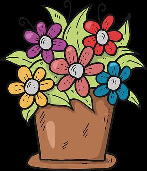 Flowers, Pot, Flower Pot, Clay Pot