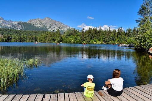 Nature, Lake, High Tatras, Mountains, Strbské Pleso