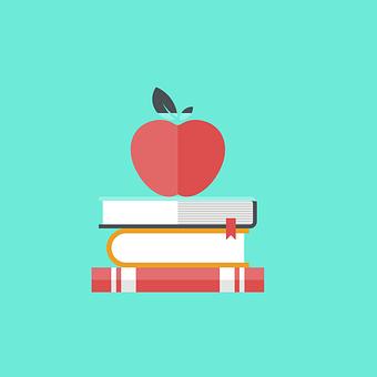 Books, Study, Apple, Education, Learn, Literatures
