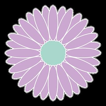 Flower, Lilac, Icon, Logo, Petals, Bloom, Blossom