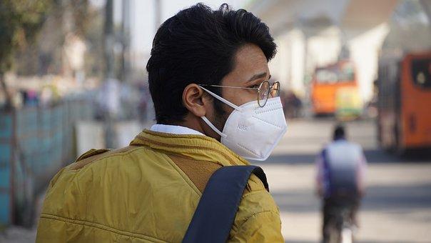 Man, Mask, Road, Face Mask, Protection, Hygiene