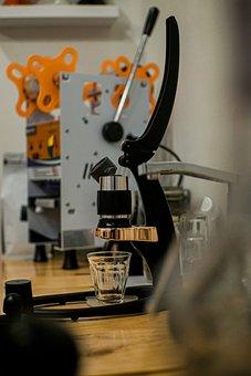 Coffee, Manual, Vintage, Barista, Caffeine, Table
