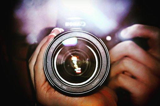Camera, Lens, Mood, Blur, Photography, Photographer