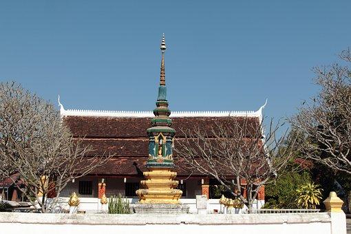 Pagoda, Luangprabang, Laos