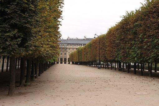 Palais Royal, Garden, Paris, France