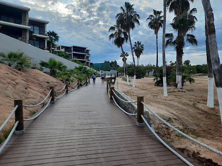Chileno Bay, Playa, Bahía, Beach, Bay, Sea, Ocean