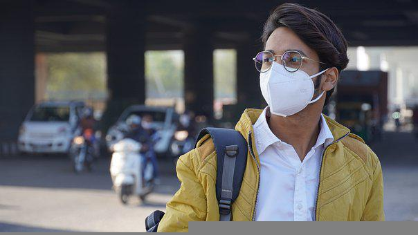 Man, Mask, Road, Face Mask, Protection, Hygiene, Young