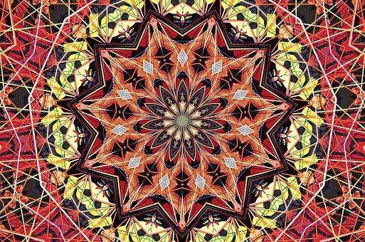 Mandala, Psychedelic, Art, Pattern