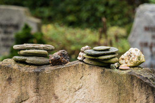 Funeral, Graveyard, Burial, Stones, Tombstone, Rocks