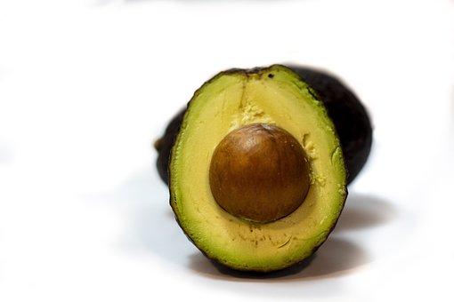 Avocado, Seed, Vegan, Healthy Eating, Salad, Closeup