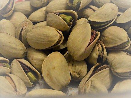 Pistachios, Nuts, Shells, Pistachio Nuts, Healthy