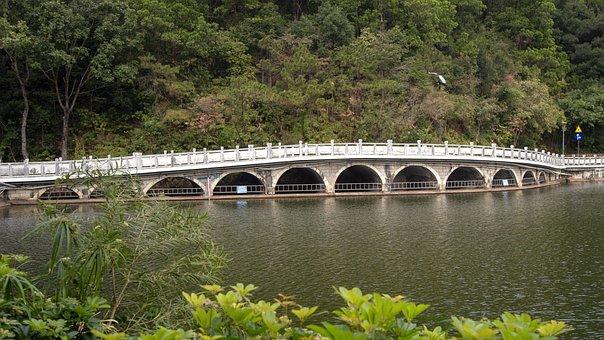Shenzhen, Fairy Lake, The Scenery, 11 Hole Bridge