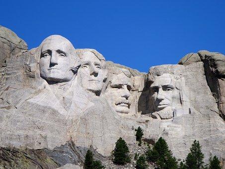 Mount Rushmore, Presidents, Monument, South Dakota