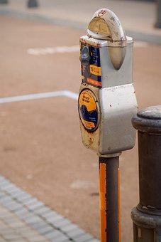 Parking Meter, Parking Lot, Street, Parking Area, Road