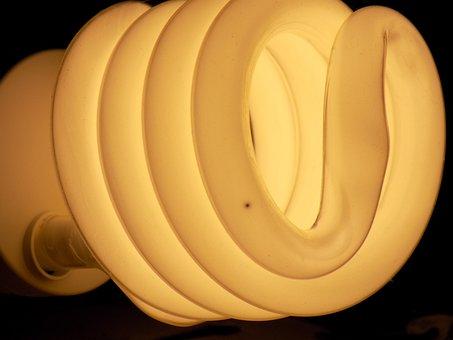 Light, Black, Bulb, Lightbulb, Energy, Technology