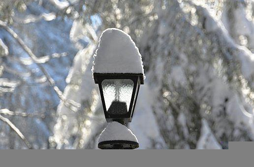 Winter, Lantern, Snow, Snow Landscape, Nature