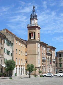 Torre, Campanile, Macerata, Architecture, Italy