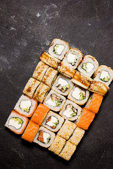 Sushi, Japan, Food, Japanese, Fish, Asia, Rice, Sashimi