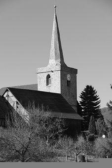 Church, Tower, Architecture, Building, Facade