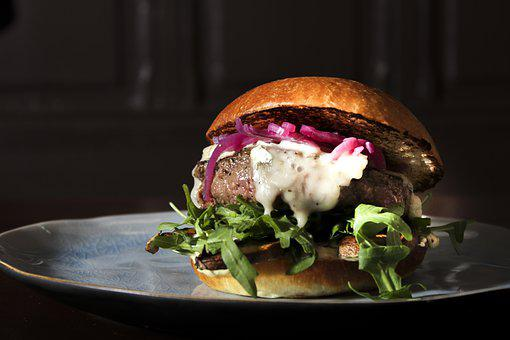 Bbq, Beef, Bun, Burger, Cheese, Cheeseburger, Close Up