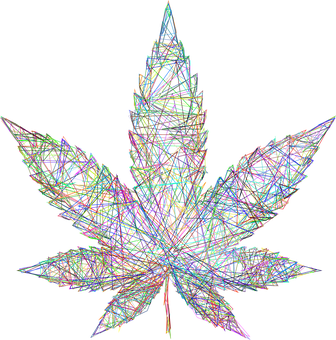 Marijuana, Leaf, Drugs, Line Art, Leaves, Cannabis