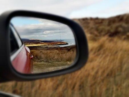 Car, Side Mirror, Drive, Trip, Road Trip, Mirror