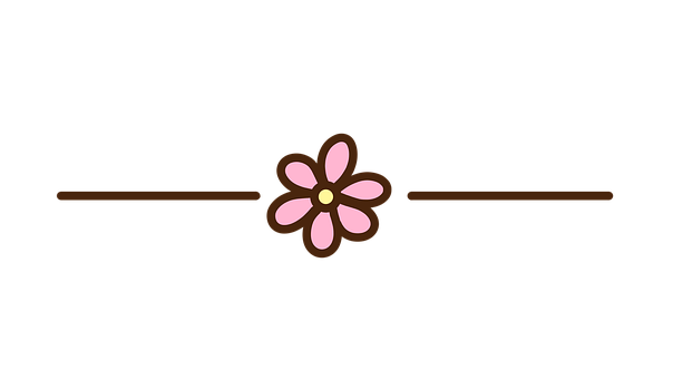 Flower, Separator, Decorative, Divider, Ornamental