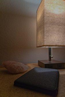 Evening, Night, Literature, Lamp, Room, Bed, Dark