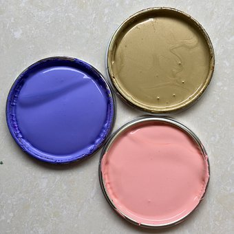 Paint, Ink, Painting, Eco, Colours, Art, Gold, Pink
