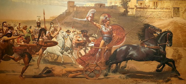 Achilles, Homer, Painting