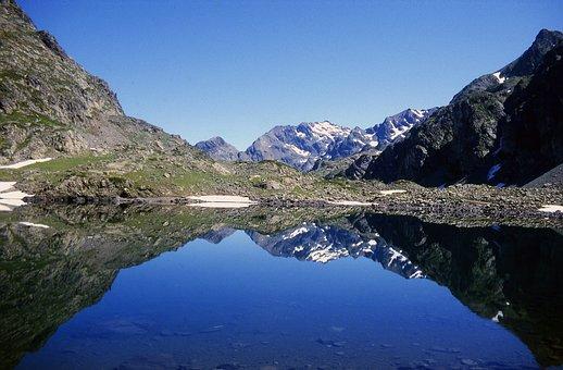 Mountain, Altitude Lake, Alps, Lake, Nature, Hiking