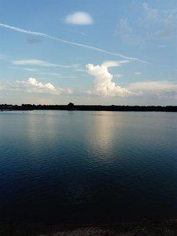 Water, Mirroring, Lake, Landscape, Reflection, Sky