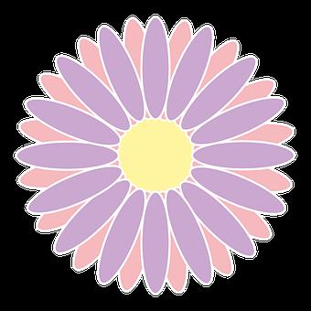 Flower, Icon, Logo, Lilac, Green, Spring, Design