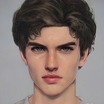 Man, Portrait, Avatar, Person, Profile, Face, Male