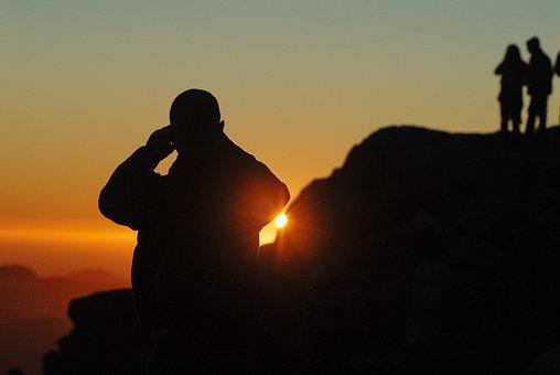 Nature, Sky, Sun, Sunlight, Sunset