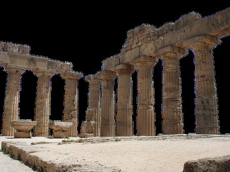 Ruins, Roman, Architecture, Antiquity, Temple
