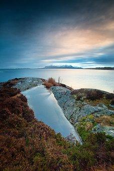 Landscape, Norway, Water, Nature, Fjord, Scandinavia