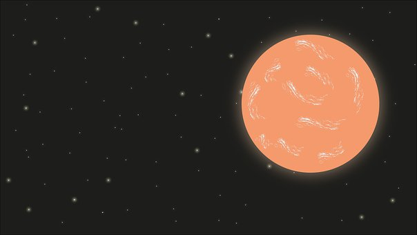 Mars, Planet, Cosmos, Stars, Orbit, Space, Sky