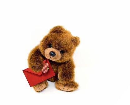 Teddy, Teddy Bear, Plush Animal, Cute, Spend, Cuddly