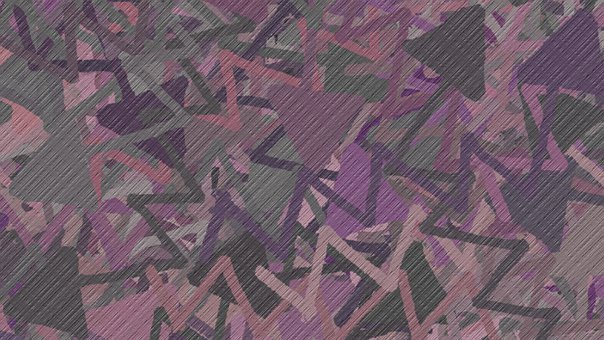 Background, Abstract, Zigzag, Arrows, Scattered