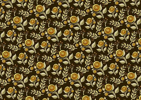 Background, Flowers, Ornamental, Art, Floral, Design