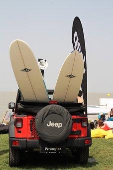 Surf, Surfboard, Wrangler, Surfer, Sport, Beach