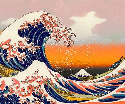 Aesthetic, Artistic, Big Wave, Water, Sea, Ocean, Big