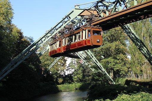 Bridge, River, Museum Railway, Imperial Car, Vehicle