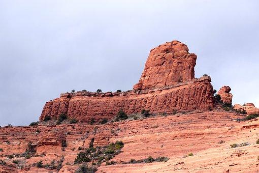Sandstone, Canyon, Mountain, Landscape, Geology