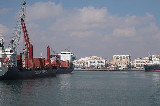 Ship, Port, Cargo, Cargo Ship, Shipping Port, Vessel